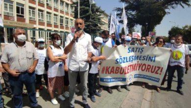 KESK üyelerinden memur zammına protesto