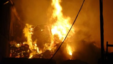 Tekirdağ'da plastik geri dönüşüm fabrikası yandı