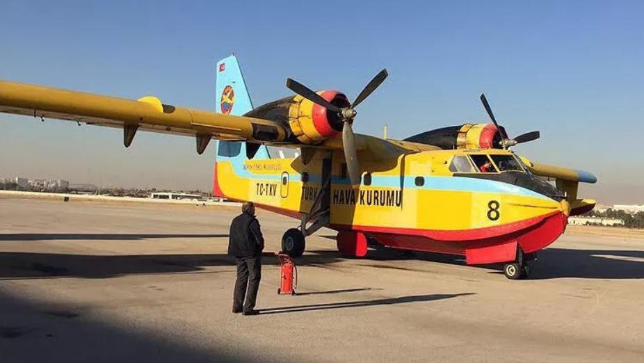 THK Uçakları, 2016'da İsrail'deki Yangına Gönderilmişti!   jurnalci