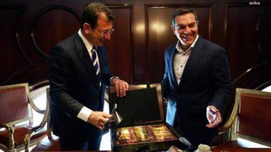 İmamoğlu, Yorgo Papandreu ve Aleksis Çipras ile bir araya geldi.