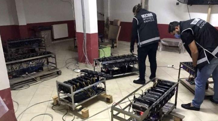İstanbul'da kripto para cihazlarına operasyon: 84 cihaz daha ele geçirildi