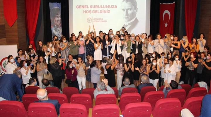 İstanbul Eczacı Odası'nın ilk kadın başkanı Şeker Pınar Özcan oldu