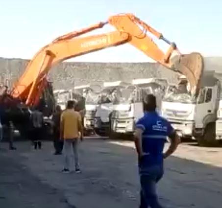 5 kamyonu hurdaya çeviren firma sahibinden açıklama: Olay basına yansıdığı gibi değil
