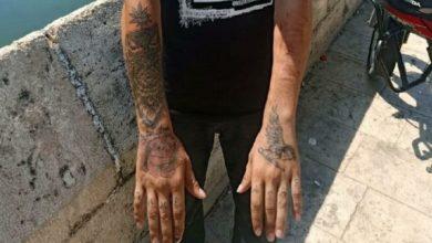 Kapkaççı'yı vücudundaki dövmeler ele verdi