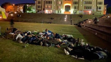 Koç Üniversitesi'nde eylem:Barınamıyoruz