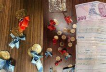 Kuyumcu'ya sahte altın satmak üzereyken yakalandılar