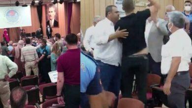 Mersin Akdeniz Belediye meclisinde kavga çıkaran sözler