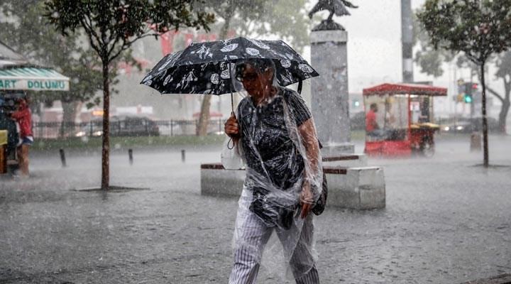 Meteoroloji'den İstanbul için bu gece sarı kodlu uyarı