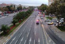 29 Ekim provaları nedeniyle 'Vatan Caddesi' trafiğe kapatıldı