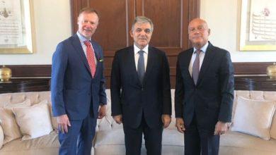 Abdullah Gül, Erdoğan'ın tepki gösterdiği isimlerden Finlandiya Büyükelçisi Ari Maki ile görüştü