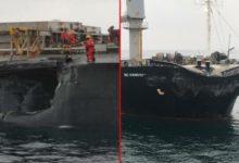 Gelibolu açıklarında yabancı bayraklı iki gemi çarpıştı