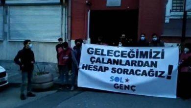 TÜGVA'yı protesto eden SOL genç üyelerine soruşturma!