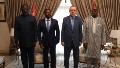 Türkiye, Togo, Burkina Faso ve Liberya liderlerinden ortak bildiri